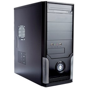 Настольный компьютер RiWer Office 347091 (Intel Pentium G620 2.6GHz s1155, Intel H61 mATX s1155, 4096 Mb DDR3 1333MHz, 500 Gb, Intel HD Graphics, DVD-RW, Windows 7 Starter 32-bit, ,Case ATX SH-13 400W Black)